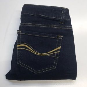 AUTHENTIC AMERICAN Womens 3 Skinny Blue Jeans